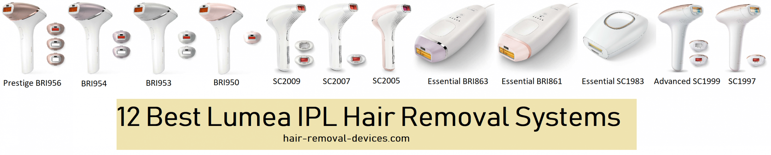 Philips Lumea Ipl Hair Removal Systems 12 Best Devices