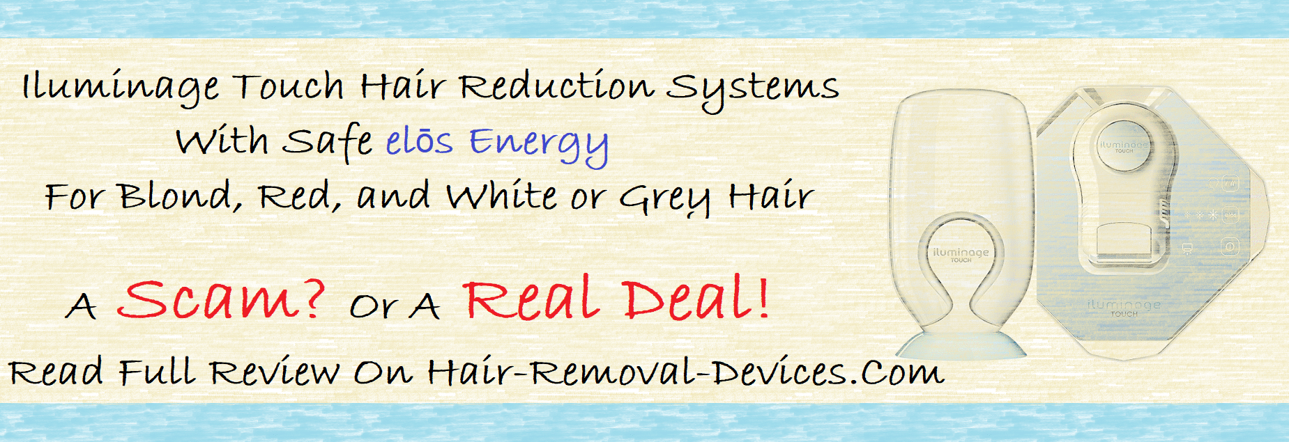 Iluminage Touch hair reduction systems overview