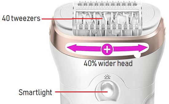 Braun Silk-epil 9 SkinSpa Head