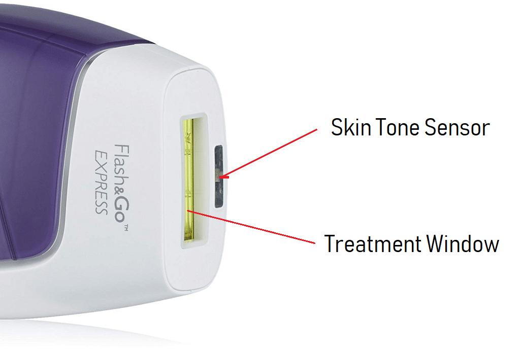 Silk'n Flash&Go Express Skin Tone Sensor