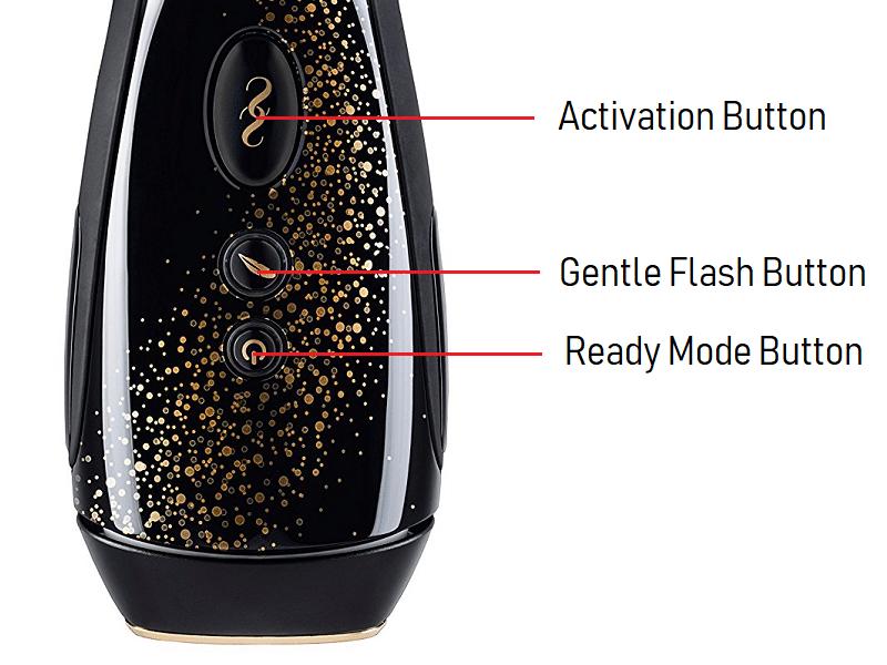 SmoothSkin Muse Gentle Flash & Ready Mode