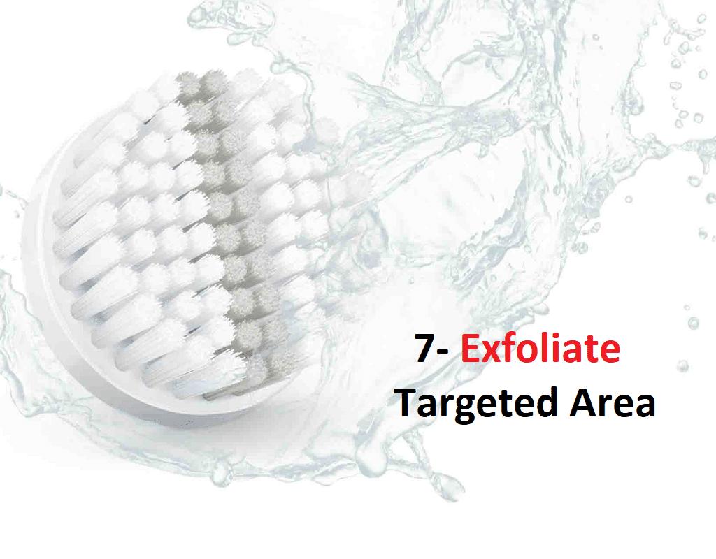 Tip7 exfoliate your skin