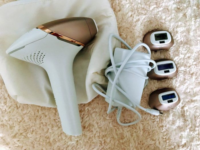 philips lumea before and after